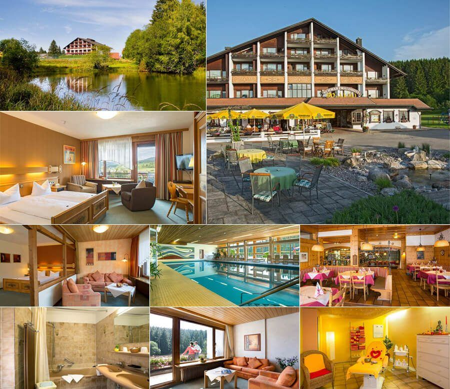 בית מלון יפהפה לזוגות ומשפחות בקצה היער השחור