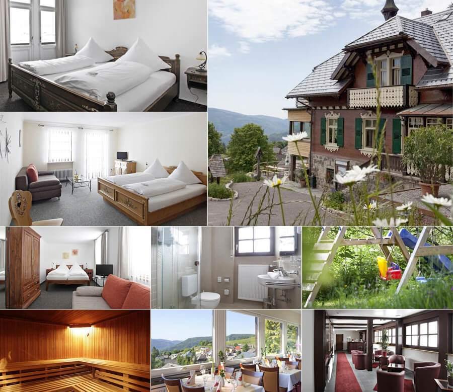 מלון בוטיק הכולל ספא באזור טריברג ביער השחור