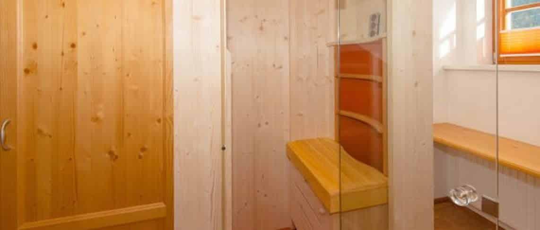 סאונה אינפראדום אישית בדירה